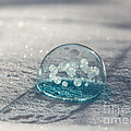 Beautiful Blue Bubble by Cheryl Baxter