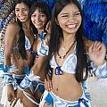 Beautiful Women Of Brazil 2 by David Smith