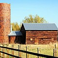 Beautiful Brick Silo by Marilyn Hunt