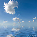 Beautiful Clouds And Sea by Boon Mee