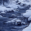 Beautiful Creek In Winter In Stanley Idaho by Vishwanath Bhat