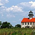 Beautiful Day At East Point Lighthouse  by Nancy Patterson
