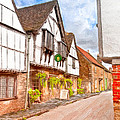 Beautiful Day In An Old English Village - Lacock by Mark E Tisdale