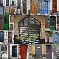 Beautiful Doors In London France And Belgium by Cathy Jacobs