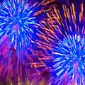 Beautiful Fireworks 10 by Jeelan Clark