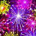 Beautiful Fireworks  6 by Jeelan Clark