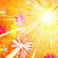Beautiful Fireworks by Jeelan Clark