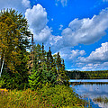 Beautiful Lake Abanakee - Indian Lake New York by David Patterson