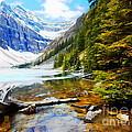 Beautiful Lake Agnes by John Kreiter