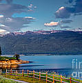 Beautiful Lake View by Robert Bales