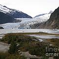 Beautiful Mendenhall Glacier by Bev Conover