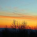 Beautiful Mountain Sunset by Cynthia Guinn