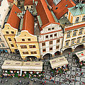 Beautiful Prague From Above - Lovely Old Houses by Matthias Hauser