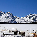 Beautiful Sawtooth Mountains by Robert Bales