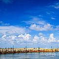 Beautiful Sea Sky by Boon Mee