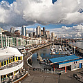 Beautiful Seattle Sky by Mike Reid