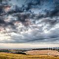 Beautiful Skies Over Farmland by Simon Bratt Photography LRPS