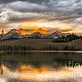 Beautiful Sunrise On Little Redfish Lake by Robert Bales