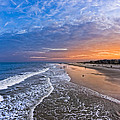 Beautiful Sunset Over Tybee Island by Mark E Tisdale