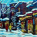 Beautiful Winter Evening by Carole Spandau