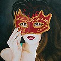 Beauty And The Mask by Sharon Duguay
