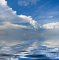 beauty Clouds over Sea by Boon Mee