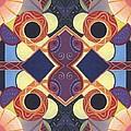 Beauty In Symmetry 1 - The Joy Of Design X X Arrangement by Helena Tiainen