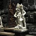 Beauty Of Bali Indonesia Statues 1 by Bob Christopher