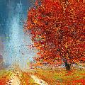 Beauty Of It- Autumn Impressionism by Lourry Legarde