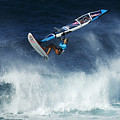 Beauty Of Windsurfing Maui 1 by Bob Christopher