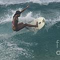 Beauty On A Surf Board by Bob Christopher