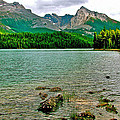 Beauvert Lake In Jasper Np-ab by Ruth Hager