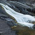 Beaver Falls Detail 1 by John Brueske