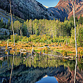 Beaver Lake Sierra Nevada Mountains by Greg Kluempers