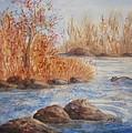 Beaver Pond by Ellen Levinson