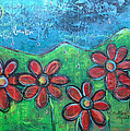 Become Whole Again Daisies by Laurie Maves ART