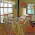 Bed And Breakfast Over The Water At Fishing Point In Saint Anthony-nl by Ruth Hager