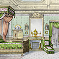 Bedroom In The Renaissance Style by French School