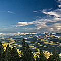 Panoramic View Of The Foothills by Lowell Monke