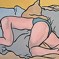 Bedscape Two-thirty Am by Stan Magnan