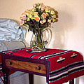 Bedside Desert Roses Palm Springs by William Dey