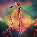Bee N Wildflowers Diamond Earth Tones by Christina Shaskus