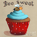 Bee Sweet Cupcake by Catherine Holman