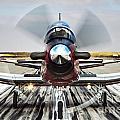 Beechcraft T-6a Texan II D by Nir Ben-Yosef