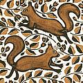 Beechnut Squirrels by Nat Morley
