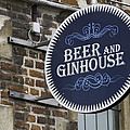 Beer And Ginhouse by David Freuthal