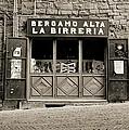 Beer Bar In Bergamo by Tom Kostro