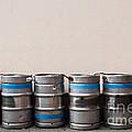 Beer Kegs by Luis Alvarenga