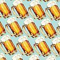 Beer Pattern by Kelly Gilleran