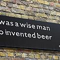Beer Sign by Sally Weigand